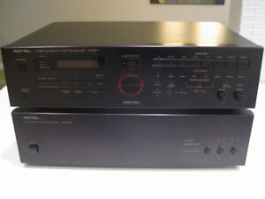 Rotel Tuner/Pre-amp and Power amp $490