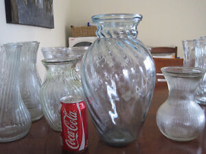 various glass vases - great for any occasion/ wedding $5 each Kitchener / Waterloo Kitchener Area image 10
