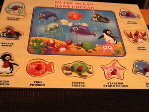 Childs wooden puzzle