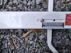 Mr. Goodbar window security bar