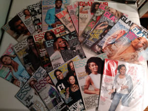 20 Womens magazines for $10, Essence, Glamour, Oprah, 2017-2018