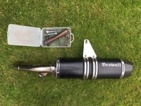 BMW R1200GS 04-12 Beowulf exhaust silencer
