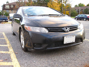 ROAD READY 2006 Honda Civic EX Coupe (2 door) INCLUDES ICE TIRES