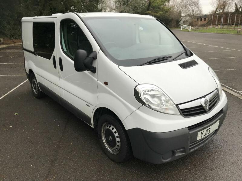 e215b1c008 2013 Vauxhall Vivaro 2.0CDTi SWB EX POLICE VAN 2 DOG KENNELS FANS k9 UNIT 5  SEAT