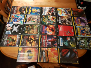 Nintendo Gamecube games and Nintendo WII Games
