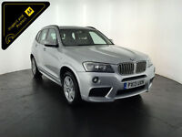2013 BMW X3 XDRIVE30D M SPORT AUTOMATIC 4WD 1 OWNER FROM NEW FINANCE PX