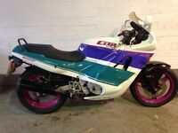 Honda CBR600F-L 1991 Benetton colours classic years mot