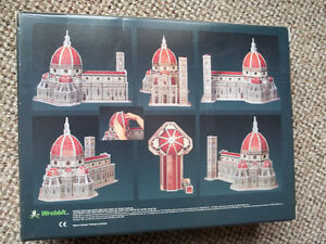 """WREBBIT-3D puzzle """"CATHEDRAL OF FLORENCE"""" 802 pieces London Ontario image 3"""