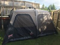 coleman 8 person instant tent *$120 off retail price*