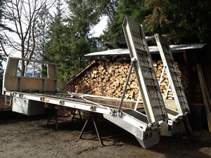 18ft Aluminum truck deck