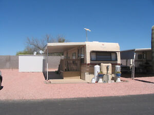 trailer for sale in a 55+ park in Apache Junction AZ