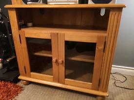 TV Corner Unit wooden (kilkeel)