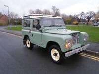 Land Rover Series III 4 CYL (green) 1983
