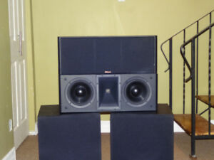 Klipsch KV-4 Center Channel Speakers X2