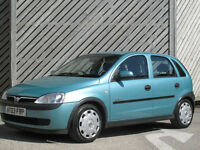 2003 VAUXHALL CORSA 1.2i ELEGANCE 5DR HATCH AUTOMATIC - ONLY 44000 MILES !!