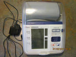 Omron Premium Blood Pressure Monitor HEM-775 with AC Adapter