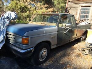 1983 Ford F-250 Pickup Truck Extended Cab