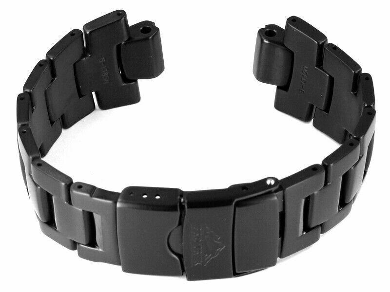 Casio Watch Strap Titanium PRW-6000YT Black