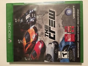 UNOPENED THE CREW XBOX ONE VIDEO GAME