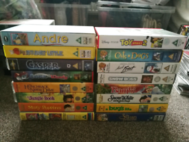 Children's VHS Video Tapes