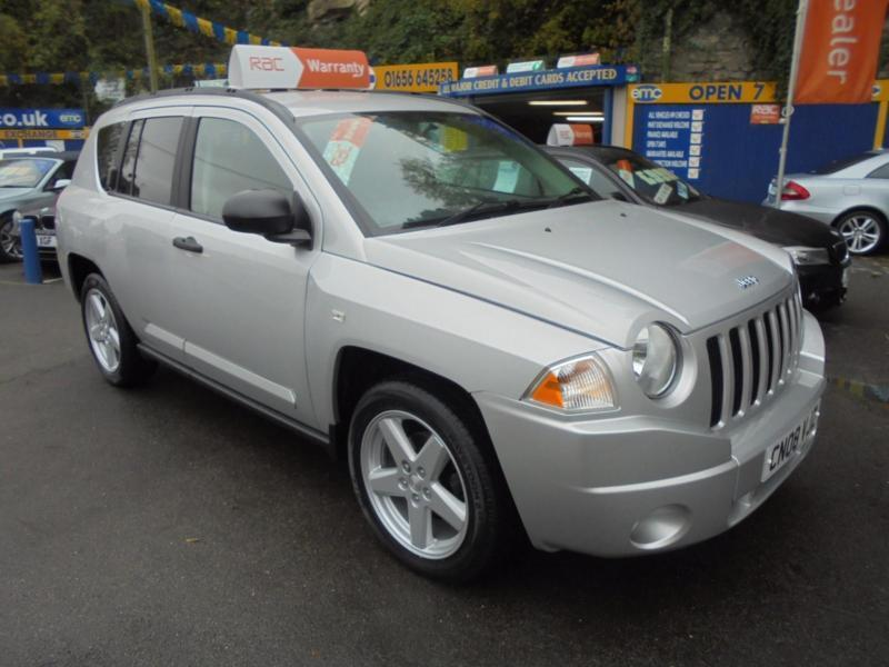 2008 08 Jeep Compass 2 4 Limited Auto 4x4 In Silver Low Mileage