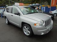 2008 08 JEEP COMPASS 2.4 LIMITED AUTO 4X4 IN SILVER # LOW MILEAGE #
