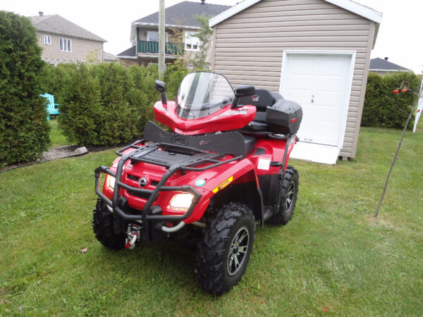 Used 2007 Bombardier Can-Am Outlander 650 XT