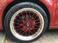"BBS 18"" Audi Bmw Mercedes VW Seat 5x112 Goodyear"