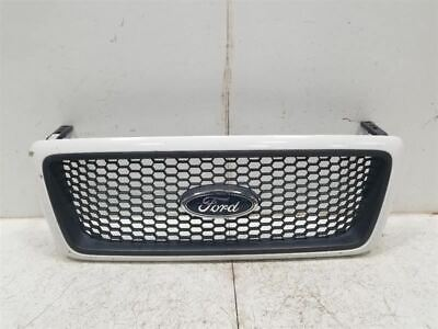 2004-2006 FORD F150 PICKUP XLT UPPER GRILLE PAINTED SURROUND OEM 188350