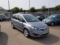 Vauxhall/Opel Zafira 1.9CDTi 16v SRi 08/58 SPARES OR REPAIR STARTS & DRIVES