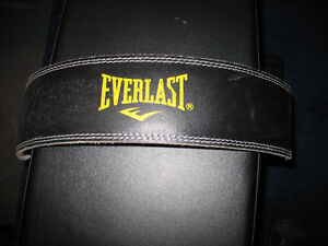 EVERLAST LEATHER WEIGHTLIFTING BELT