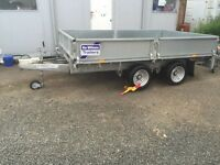 Ifor Williams drop side trailer LM106G as new ( no vat )