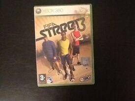 Xbox Fifa street 3