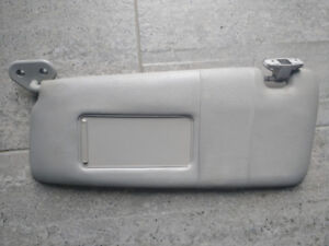 BMW E46 3 Series Grey Grey DRIVER SIDE ONLY Sunvisor OEM