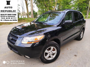 2009 Hyundai Santa Fe, AWD, V6, Certified, Accident Free