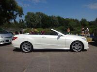 Mercedes E Class E 350 CDI SE Auto (white) 2012