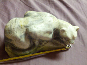 Beautiful Puma/Mountain Lion/Cougar Soapstone Carving Prince George British Columbia image 3