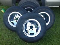 Stock Chev 5 Bolt Rally Rims