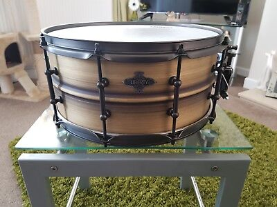 Liberty Brushed Brass Snare Drum 14 x 6.5