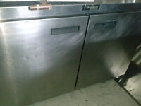 Commercial Cooler / Prep Table (restaurant equipment)