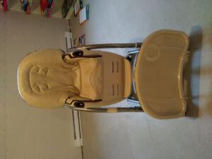 Chaise haute multifonctions