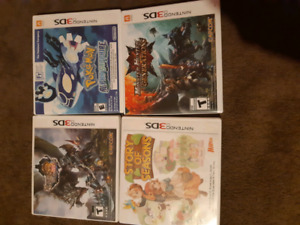 3ds ps4 and psvita games