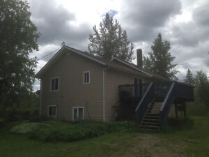 Beautiful house situated on 5 acres off the hart highway