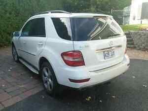 2009 ML 320 bluetec white fully equipped