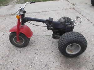 Chassis only for 1980 Honda ATC 70 Moose Jaw Regina Area image 2