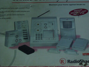 New Radio Shack Home Security System
