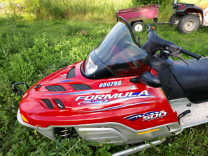 2001 formula deluxe rotax 500
