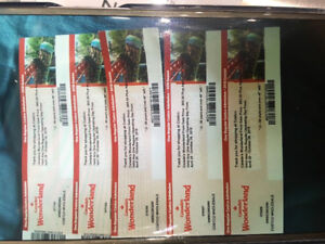 SELLING 5 TICKETS FOR CANADAS WONDERLAND.