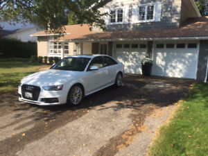 2015 Audi A4 Sedan with sport package - lease takeover