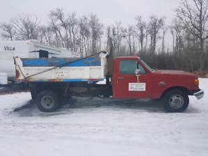 1992 ford f350 with dump box
